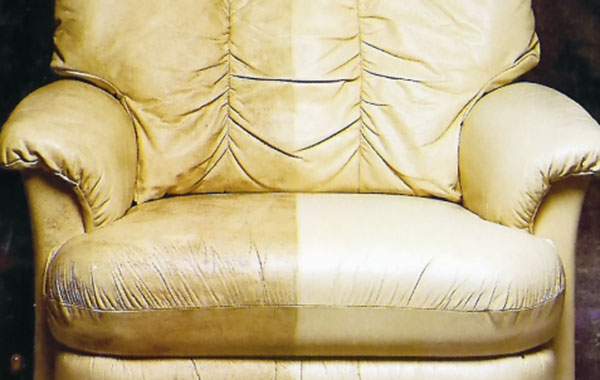 Leather Recliner Cleaning