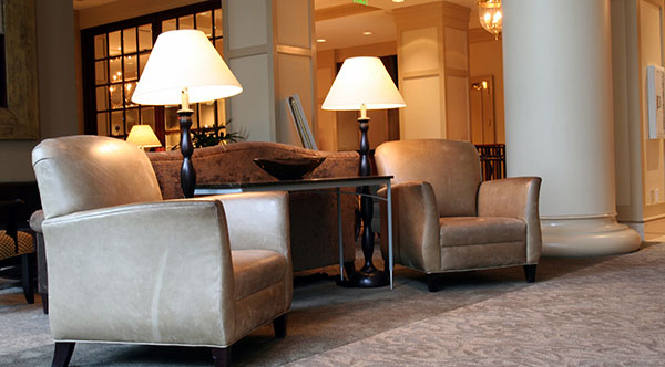 Hotel Lobby - Commercial Carpet Cleaning